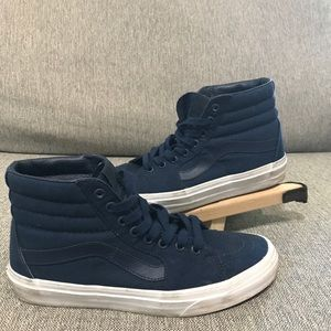 Vans Off The Wall Blue Slate Shoe Mens 7.5